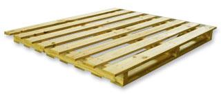 Paletes de 2 entradas com balanço aji madeiras
